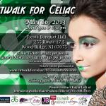 CATWALK FOR CELIAC 2013