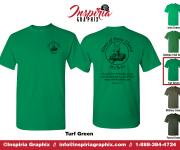 House of Praise Church- Green shirt