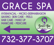 GRACE SPA- LAWN SIGNS- LEFT-RIGHT