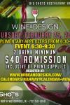 FEB 25, 2016- WINE & DESIGN