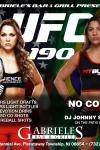 GABRIELE'S- UFC 190- GABRIELE'S