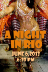 LILLIE- A NIGHT AT RIO-TICKET