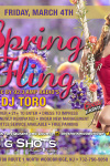 MARCH 4TH- SPRING FLING DJ TORO