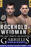 UFC 199- ROCKHOLD VS WEIDMAN 2