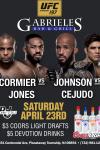 UFC APRIL 23RD