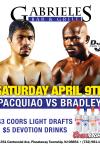 UFC APRIL 9TH