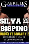 UFC SILVA VS BISPING- IG