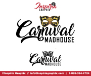 CARNIVAL MADHOUSE LOGO OPTIONS