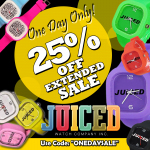 JUICED-ONE DAY ONLY