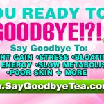 SAY GOODBYE TEA- COVER