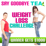 SAY GOODBYE TEA- WEIGHT LOSS CHALLENGE 1