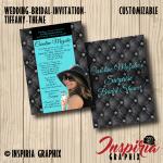 BRIDAL SHOWER INVITATION- TIFFANY STYLE